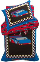Kidkraft Beddengoed voor Kleuters – Raceauto: