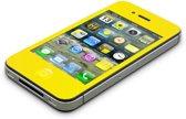 AVANCA Beschermglas iPhone 4 Geel - Screen Protector - Tempered Glass - Gehard Glas - Ultra Dun - Protectie glas