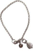 Zilveren armband Swarovski druppel Lengte:18,5 cm