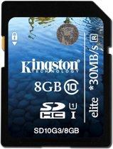 8GB SDHC Class 10 UHS-I Elite Flash Card