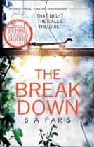 Boek cover The Breakdown van B.A. Paris (Paperback)