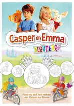 Casper en Emma kleurboek