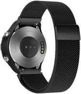 Just in Case Huawei Watch 2 Classic Milanees armband - Zwart