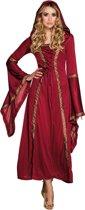 Boland verkleedpak Lady Gwendolyn dames rood maat 36/38