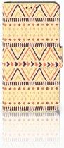 LG X Style Uniek Boekhoesje Aztec Yellow