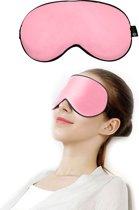 SIMIA™ Premium Zijden Slaapmasker - Luxe Verstelbare Reismasker - Slaapbril - Organic Satin - Nachtmasker - Oogmasker - Blinddoek - Meditatie - Yoga - Slaap - Reis - Zijde - Zijdezacht - Anti Rimpel - Cadeau Tip - Roze