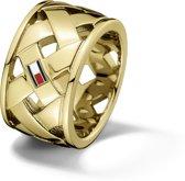 Tommy Hilfiger TJ2701024 Ring - Goudkleurig - maat 58