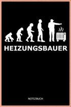 Heizungsbauer: A5 Notizbuch Demi Raster / Karo / Kariert 120 Seiten f�r Heizungsbauer und Installateur I Geschenkidee f�r Beruf & Fre