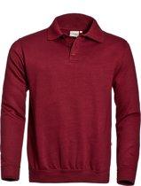 Santino Robin Polosweater Donker groen S