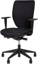 24Designs Bureaustoel Business Seaton - Stof - Zwart