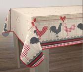 Tafelkleed anti-vlek Coq 200 x 150 cm