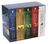 Boek cover Game of Thrones: A Song of Ice and Fire boxset (1-5) van George R.R. Martin (Paperback)