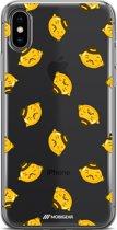 Mobigear Design TPU Hoesje Food Lemon iPhone Xs Max