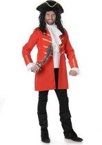 Rood piraten kostuum voor mannen  - Verkleedkleding - Medium