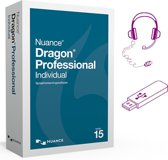 Dragon 15 Professional Individual - Nederlands+Engels