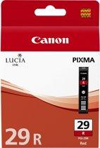 Canon PGI-29R - Inktcartridge / Rood