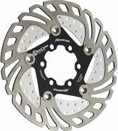 Reverse AirCon Brake Disc SL, black Diameter 160mm