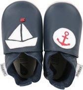 Bobux babyslofjes navy nautical - maat 20