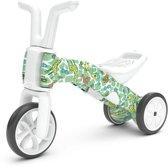 Limited edition - Chillafish Bunzi, loopfiets en driewieler 2 in 1, voor kinderen van 1 tot 3 jaar,  Girafitti