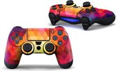 PS4 dualshock Controller PlayStation sticker skin | Triangel