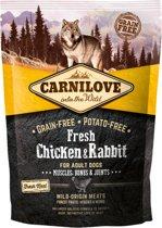 Carnilove Dog Fresh Kip en Konijn 1,5 kg
