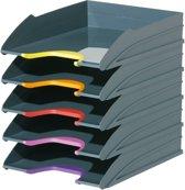 Durable set van 5 brievenbakken Varicolor assortiment