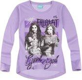 Disney-Descendants-T-shirt-met-lange-mouw-paars-maat-152