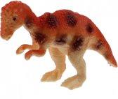 Toi-toys Miniatuur Dinosaurus 6 Cm Bruin/oranje
