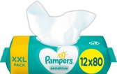 Pampers Sensitive Billendoekjes- 960 Stuks