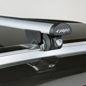 Faradbox Dakdragers Nissan Qashqai 2014> gesloten dakrail, 100kg laadvermogen