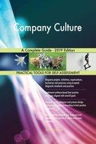 Company Culture A Complete Guide - 2019 Edition
