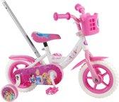 Disney Princess Kinderfiets - 10 Inch - Wit/Roze