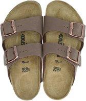 Birkenstock Arizona kinder slipper - Bruin - Maat 27