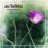 Boccherini: 6 Flute Quintets Op. 55 / Faust, Auryn Qt