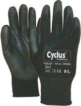 Cyclus Werkhandschoenen Zwart Handomtrek 9