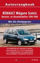 Vraagbaak Renault Megane Scenic deel Benzine- en dieselmodellen 1996-1998