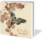 Birds Kôno Bairei Wenskaarten Formaat 14 5 X 14 5 Cm