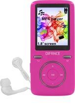 Difrnce MP1805 - MP4 speler - 8GB - Roze