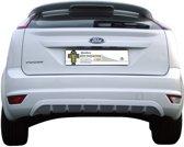 Motordrome Achterbumperskirt (Diffuser) Ford Focus II 3/5-deurs 2008-2011 (ABS)