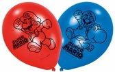 Super Mario Ballonnen 23cm 6 stuks