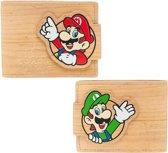 Nintendo - Woodgrain Snap - Bifold portemonnee