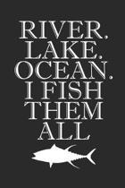 River Lake Ocean I Fish Them All