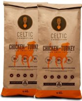 Celtic Connection - Duo Pack Chicken with Turkey & Sweet Potato - 2x 12Kg