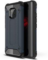 Armor Hybrid Huawei Mate 20 Pro Hoesje - Blauw