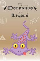 My Patronus Is A Lizard: Cute Lizard Lovers Journal / Notebook / Diary / Birthday Gift (6x9 - 110 Blank Lined Pages)