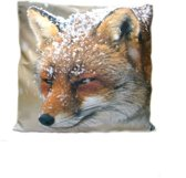 Sierkussen vos thema dieren cadeaus woon accessoires decoratie