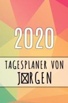 2020 Tagesplaner von Jrgen: Personalisierter Kalender f�r 2020 mit deinem Vornamen