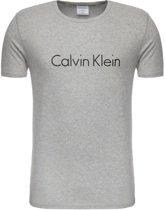 Calvin Klein - Heren Ronde Hals T-Shirt Grijs - S