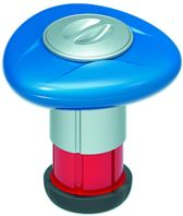 Chloordrijver met verbruiksindicator met thermometer