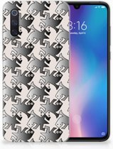 Xiaomi Mi 9 Uniek TPU Hoesje Salamander Grey